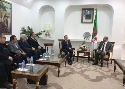 Rencontre-avec-le-ministre-des-Transport-et-travaux-publique---Algérie